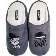 Туфли домашние мужские, 04Т-104, размер 40-41.