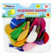 Воздушные шарики «Paterra» разноцветные, 30 см, 30 шт.
