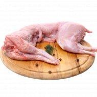 Тушка кролика, охлажденная, 1 кг., фасовка 1.2-1.4 кг