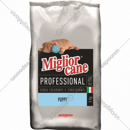 Сухой корм для собак «Miglior cane» puppy, 5 кг.
