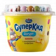 Йогурт «Суперкид» ваниль-конфеты 2%, 103 г.