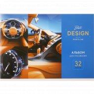 Альбом для рисования «Авто» А4, 32 л.
