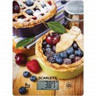 Весы «Scarlett» SC-KS57P59, черничный пирог