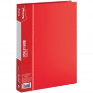 Папка с 60 вкладышами «Standard» красная, 21 мм, 700 мкм.