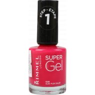 Гель-лак для ногтей «Rimmel Super Gel Nail Polish» 026 тон, 12 мл.
