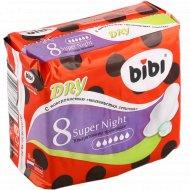 Гигиенические прокладки «Bibi» Super Night, 8 шт.