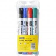 Набор маркеров для белых досок 4 цвета.