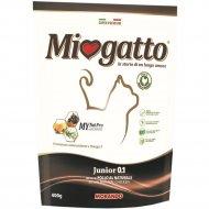 Корм для кошек юниоров «Miogatto» с курицей, 0.4 кг.