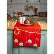 Дорожка на стол «Listelle» Новогодний серпантин, 35201