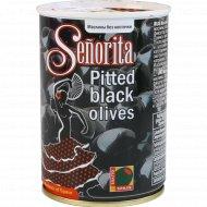 Маслины черные «Senorita» без косточки, 280 г.