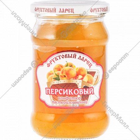 Конфитюр «Фруктовый ларец» персиковый 350 г.