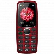 Мобильный телефон «Texet» TM-B307, красный.