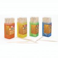 Зубочистки бамбуковые «Paterra» в банке 100 шт.