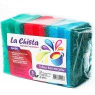 Губки для посуды «La Chista» профи, 3 шт.