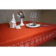 Скатерть «Listelle» Эдельвейс красный, 53301