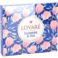Набор чая «Lovare Flowers&Tea» 12 видов, 60 пакетиков, 110 г