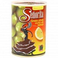 Оливки «Senorita» с лимоном, 280 г.