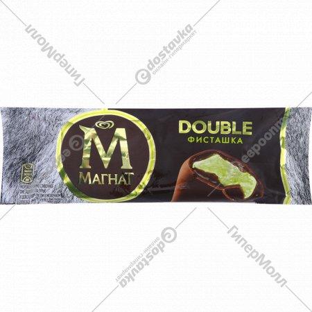 Мороженое эскимо «Магнат Double фисташка» с глазурью, 73 г.