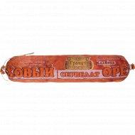 Колбаса варено-копченая «Сервелат Ореховый» первого сорта, 1 кг, фасовка 0.55-0.65 кг