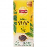 Чай черный «Lipton» 25 пакетиков.
