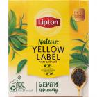 Чай черный «Lipton» 100 пакетиков.