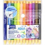 Карандаши цветные «Aqua», 12 цветов.