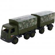 Автомобиль бортовой «Престиж» тентовый военный с прицепом.