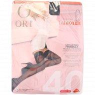 Чулки женские «Ori» effect 40, nero, размер S.