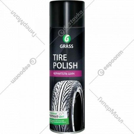 Чернитель шин «Grass» tire polish, 650 мл.