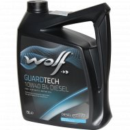 Масло моторное «Wolf» Guardtech, B4 Diesel, 23126/5, 5 л.