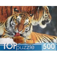 Пазлы «Два тигра» 500 элементов.
