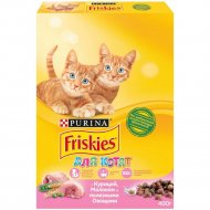 Корм для котят «Friskies» с курицей, молоком и овощами, 400 г