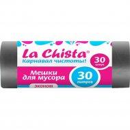 Мешки для мусора «La Chista» эконом, 30 шт.