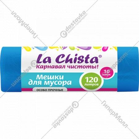 Мешки для мусора «La Chista» повышенной прочности, 10 шт.