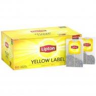 Чай черный «Lipton» yellow label tea, 2 г х 50 шт, 100 г.