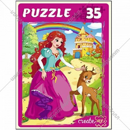 Макси-пазлы «Принцесса и замок» 35 элементов.