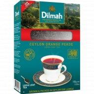 Чай черный цейлонский «Dilmah» крупнолистовой, 100 г.