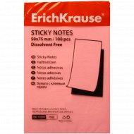 Бумага «Erich Krause« с клеевым краем 50х75 мм.