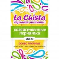 Перчатки особо прочные «La Chista» резиновые с напылением, M.