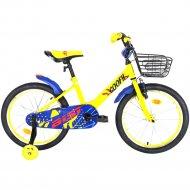 Велосипед «Aist» Wiki 16 2021, Желтый