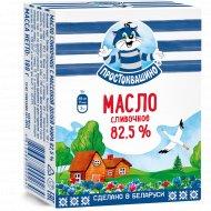 Масло сливочное «Простоквашино» несоленое, 82.5%, 180 г