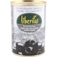 Оливки черные «Liberitas» без косточки, 280 г.