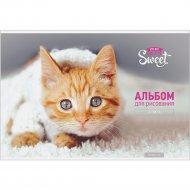 Альбом для рисования А4 «ArtSpace» Питомцы, Pretty sweet, 24 листа