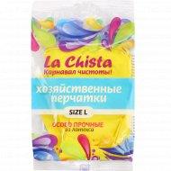 Перчатки «La Chista» резиновые, размер L.