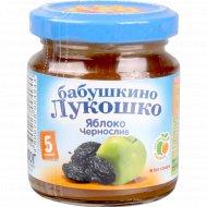 Пюре «Бабушкино Лукошко» яблоко+чернослив, 100 г.