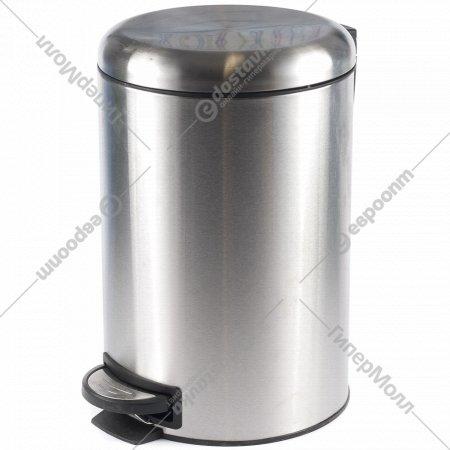 Ведро для мусора металлическое с педалью 3 л.