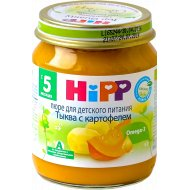 Пюре «Hipp» тыква с картофелем, 125 г