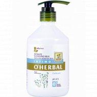 Молочко для интимной гигиены «O`Herbal»?, 500 мл.