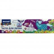 Тесто для лепки «Mazari» 3 цвета, 270 г.