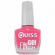 Лак для ногтей «Quiss» Gel Finish, 12, 10 мл.